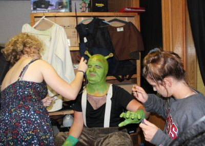 Shrek Make up